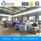 PVC 목제 플라스틱 벽면, WPC PVC 빈 위원회 밀어남 기계 생성을%s WPC 기계