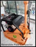 Реверзибельный Compactor Gyp-160 плиты с дуктильной плитой утюга