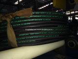 High-Tensile 철강선 SAE 100 R17 고무 유압 호스의 1개 2개의 끈목