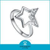 Nieuw kom Unieke Echte Zilveren Ring 925 voor Dames (r-0598)