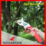 Koham lavora le cesoie di potatura della batteria del Li di taglio dei rami dell'albero della pera
