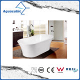 浴室の正方形のアクリルの支えがない浴槽(AB1520W)
