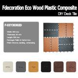 Pavimentazione composita di plastica di legno esterna di Decking WPC di DIY