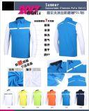 Soem-Golf-T-Shirt mit Anti-UVA Hülsen-Sommer-Sport-Hemden mit Sunblock Eis-Seide-Hülse
