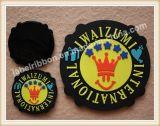 Etiqueta de borracha de silicone para emblema