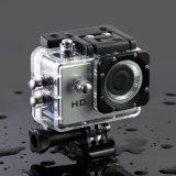 Câmera da ação de HD 720p com caso impermeável câmera de um esporte de 2 polegadas