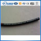 Boyau moyen tressé de pression d'acier à haute limite élastique de SAE 100r1
