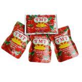 Puré vendedor caliente del tomate de la bolsita de 70 G para el comerciante