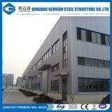 Atelier en acier d'acier d'entrepôt de mesure de construction légère de structure métallique