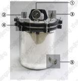 Tipo portatile autoclave di pressione dell'acciaio inossidabile