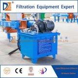 Prensa de filtro ocultada hidráulica del compartimiento de secuencia 450series