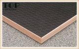 1220*2440 (4*8) madera contrachapada de madera grabada 9/12/15/18m m del grano de Matt/para la decoración de los muebles