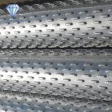 Tubo Drilling de la pantalla del control de la arena del receptor de papel de agua de la ranura del puente