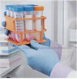 Guanti a gettare dell'esame del nitrile di alta qualità con colore blu