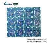 2 Layer Blau Loetmaske PCB mit Hal Beschichtung