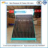 No calentador de agua solar de la presión con los materiales verdaderos