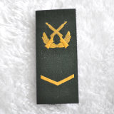Unidade do exército Velcro Patches Work do OEM em Shoulders Badges Designs
