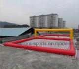 성숙한 팽창식 바닷가 배구장을%s 팽창식 배구 필드 수중 스포츠 게임