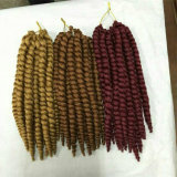 tresses synthétiques de torsion d'Afro de La Havane de mambo de crochet de 14inch 12inch 80g 2s 2X