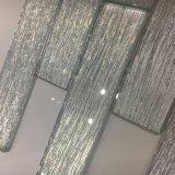 El azulejo blanco cristalino más nuevo del ladrillo de cristal para la decoración de la pared (superficie lisa)