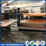 madeira compensada laminada folheado do pinho do pinho do núcleo do Poplar da classe da mobília 4X8