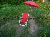 600d 폴리에스테 접히는 바닷가 간편 의자를 가진 옥외 가구 금속 강철 관