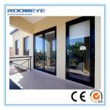 Roomeye 2.0mm Milieu/Geluiddichte/Vuurvaste Deuren die van het Aluminium Open Stijl glijden