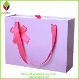 Выдвиженческая бумажная коробка упаковки платья благосклонности венчания подарка