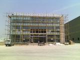 가벼운 강철 구조물 프레임 Prefabricated 사무실 (KXD-SSB 1002년)