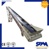 Sbm 800 mm Rubber Belt Flat Conveyor para venda