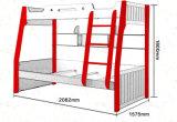 固体木のベッド部屋の二段ベッド(M-X2223)