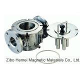 Rcyj séparateur magnétique permanent de canalisation liquide de 150/65 série pour pharmaceutique, chimique, fabrication du papier, matériau non métallique, réfractaire