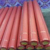 Самый лучший продавая крен настила PVC войлока красного цвета
