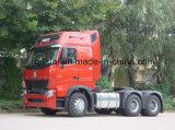 420HP HOWO A7 트랙터 헤드 트럭 6X4