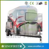 Pferden-lebender Viertelwohnmobil-Schlussteil Soem-China