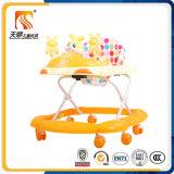 Caminhantes ajustáveis do bebê da altura En71 aprovada com 8 rodas