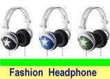 Do estilo estereofónico da mistura do auscultadores dos auriculares da estrela da boa qualidade auscultadores colorido