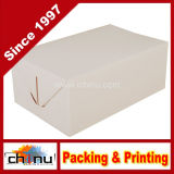 De kartonnen Witte Om mee te nemen Doos van de Snack (130001)