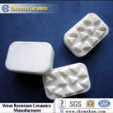 Parti di ceramica del rivestimento dell'allumina di Chemshun con il formato su ordinazione