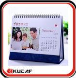 Calendrier de bureau personnalisé de calendrier de modèle pour le bureau