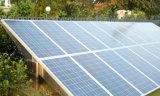 station solaire de Systam de groupe électrogène du module 5kw utilisée pour sur outre de l'électricité de réseau
