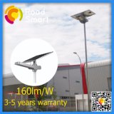 Indicatore luminoso di via solare di illuminazione solare della lega di alluminio di Intelligeng 40W LED