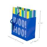 광택 있는 광택지 부대, 선물 종이 봉지, 선물 부대, Kraft 종이 봉지, 물색 종이 봉지