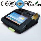 지문과 인쇄 기계를 가진 NFC 독자 WiFi Bluetooth 신용 카드 금전 등록기