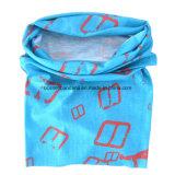 I prodotti dell'OEM hanno personalizzato il foulard tubolare di protezione UV di Microfiber del poliestere stampato marchio