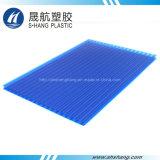 Placa plástica del material para techos Glittery del policarbonato con la protección ULTRAVIOLETA