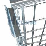 Lager-zusammenklappbare Rahmen-Stahlladeplatte mit hölzerner Ladeplatte