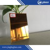 specchio tinto specchio decorativo riflettente giallo ricco dello specchio di 6mm