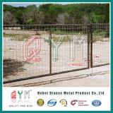 Frontière de sécurité d'inducteur/frontière de sécurité de ferme/frontière de sécurité galvanisée de cheval de maille tissée par fil de fer