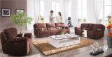 Modelo casero 913 del sofá del cuero del Recliner de los muebles
